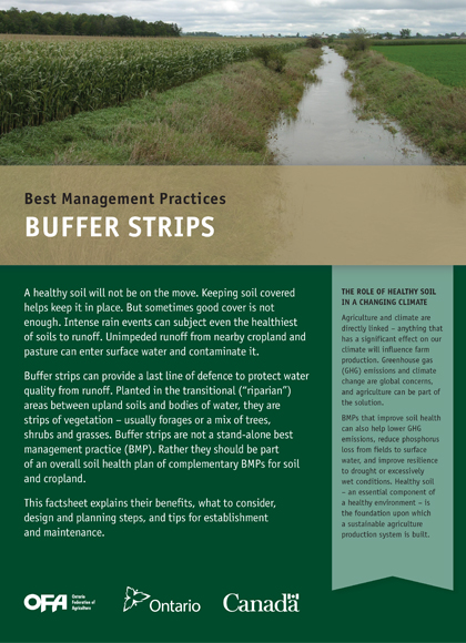 Image of Buffer Strips Book