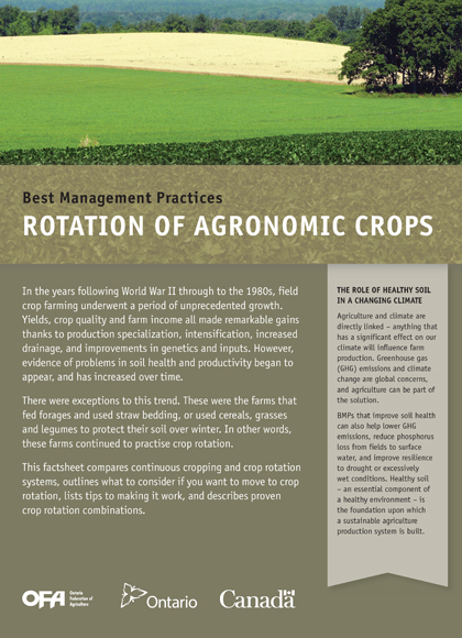 Image of Rotation of Agronomic Crops Book